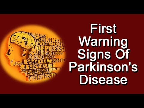First Warning Signs Of Parkinson's Disease