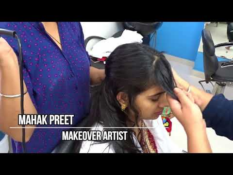 लम्बे बालों के लिए मल्टी स्टेप हेयर कट  Multi Step Hair Cut for Long Hair by Mahak Preet