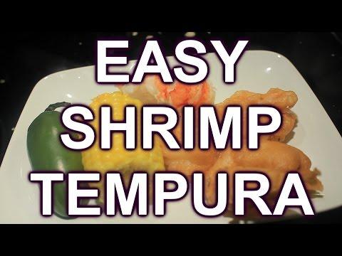 How to Cook Shrimp Tempura Easy Recipe