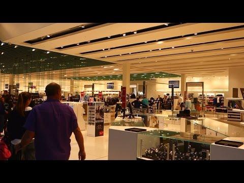 (HD) Duty Free Area London Heathrow Terminal 5