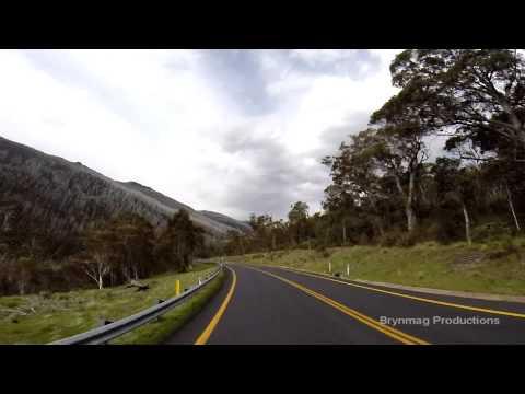 Drivelapse Australia - Thredbo to Jindabyne - 100% GoPro HERO
