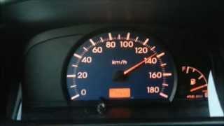 Daihatsu Cuore 0-140 km/h acceleration Beschleunigung | -[videotistik]-