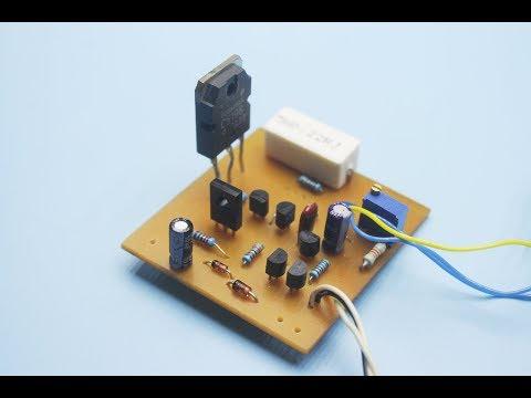 DIY excellent adjustable power supply 0-35V, 0-3A