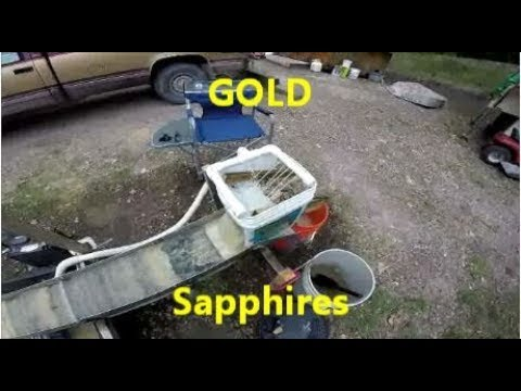 How To Make A Fluid Bed High Banker For A Sluice Box + Gold & Sapphires