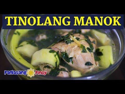 Tinolang Manok sa Upo - Panlasang Pinoy
