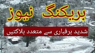 Neelum valley l snowfall l land sliding in kashmir l snowfall neelum valley l snowfall ajk l viral