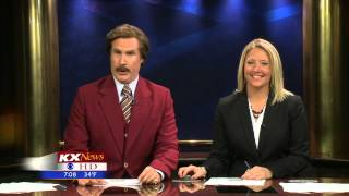 Ron Burgundy Anchoring HIGHLIGHTS
