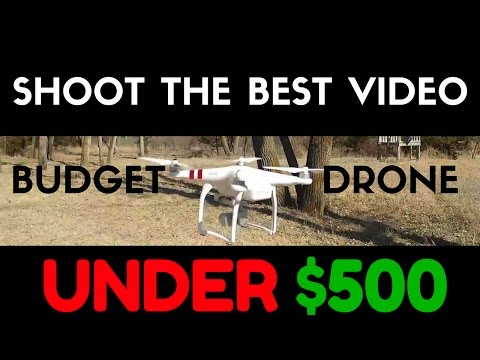 Best Drone Under $500 With Professional Quality Camera   DJI Phantom 3 Standard Review & FAQs Video