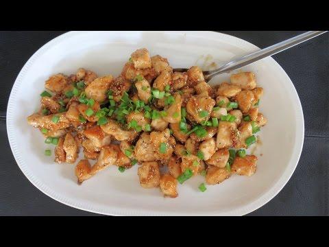 Honey Garlic Chicken -- The Frugal Chef