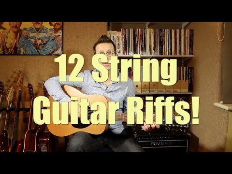 Twelve String Guitar Riffs Performed By Guitar Teacher Cliff Smith