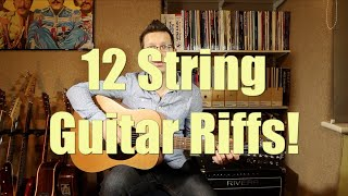 Download Twelve String Guitar Riffs Performed By Guitar Teacher Cliff Smith Video