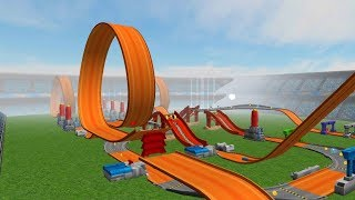 Hot Wheels Track Builder Game Torque Twister Twinduction Sets Gameplay Video
