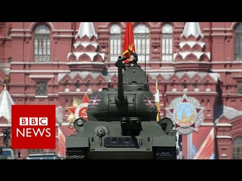 Inside Red Square for Victory Day parade - BBC News