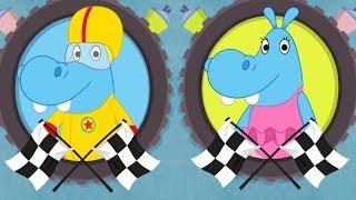 Boomerang Make And Race ✔ The Happos Family - Cartoon Racing Game