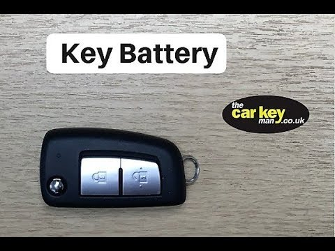 Key Battery Nissan Juke New Style HOW TO