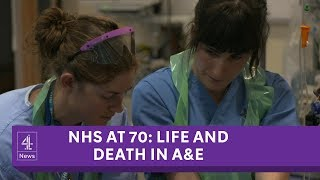 The NHS at 70: Life and death in A&E