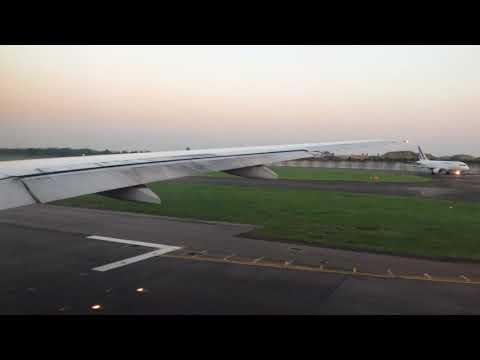 British Airways 777 Sunset Takeoff from Heathrow