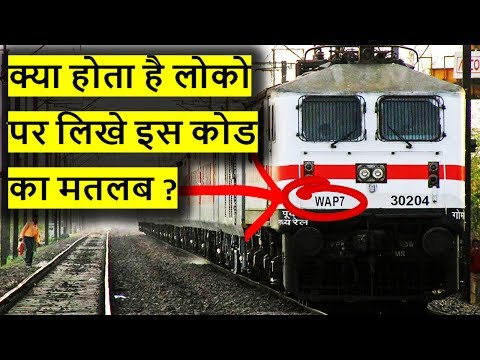 The Nomenclature System of Locomotives on Indian Railways | How Locomotives are Classified
