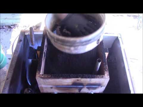 Rheostat Project: Pouring the castings