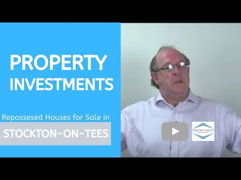 Property Investments in Stockton-on-Tees – Repossessed Houses for Sale Stockton-on-Tees