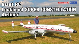 GIANT 1:6 scale Radio Controlled (RC) Lockheed SUPER CONSTELLATION TWA