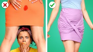 Oops.. Fix It! 11 Fun DIY Clothes and Fashion Hacks
