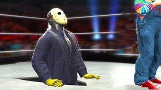 Jason Voorhees VS Chucky - Hell In A Cell Match