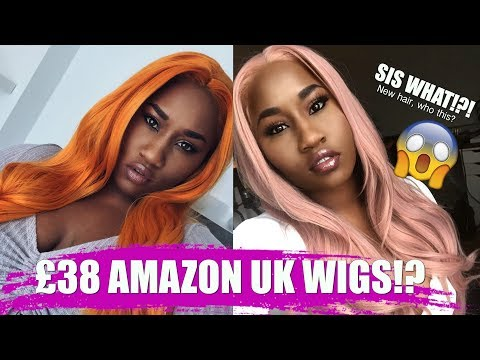 I TRIED CHEAP WIGS FROM AMAZON UK AND THEY ARE FIRE 🔥🔥🔥🔥
