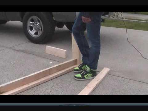 How to make PVC rail