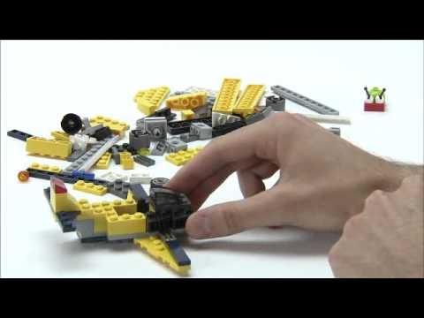 Build your own Creator plane - LEGO Creator - Designer Tips