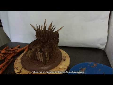 Game of Thrones Cake, The Iron Throne of Westeros Cake