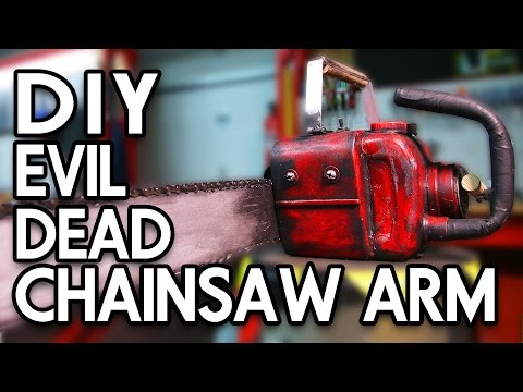 DIY EVIL DEAD CHAINSAW ARM - Erik Builds the Movies #8