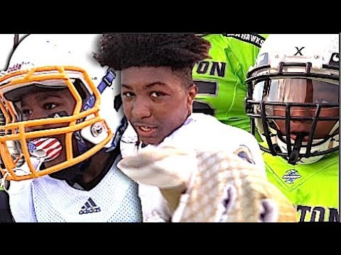 🔥🔥 12U LA Rams v Compton Seahawks : Snoop Youth Football League 2017