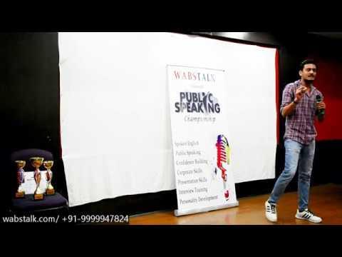 Social Issues | Ajaat (Teacher) | Grand Public Speaking Championship