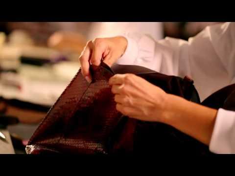 Making of the Gucci Soft Stirrup Bag