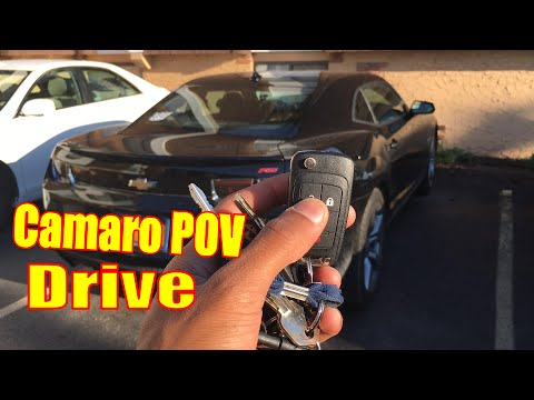 How does a Camaro Drive? | Camaro Manual POV Driving Backroads