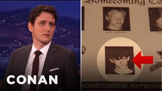 Zach Woods Was Voted Homecoming King  - CONAN on TBS