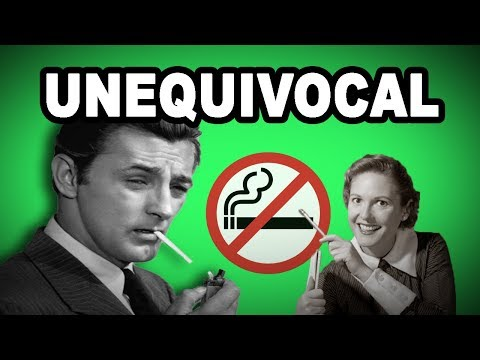 Learn English Words: UNEQUIVOCAL - Meaning, Increase Your Vocabulary with Pictures and Examples