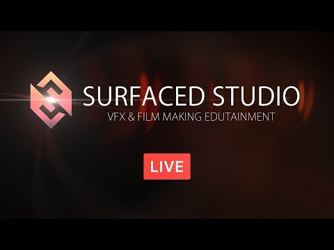 Surfaced Studio Live - How To Learn Video Editing & Visual Effects