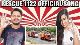 Indian Reaction On Rescue 1122 official Song | Emergency Service In Pakistan | Krishna Views