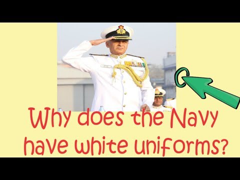 Common Sense and General Knowledge Questions with Answers  Why Indian Navy have a white uniform?