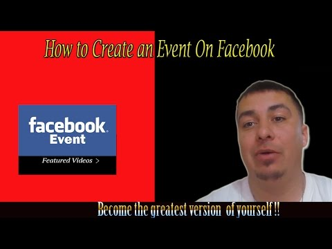 How to create an Event on Facebook 2015
