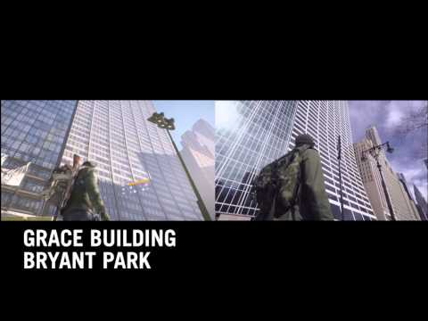Tom Clancy's The Division Side by Side IRL Comparison