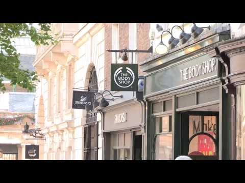THE BODY SHOP | Hair Chalk - make-up for hair