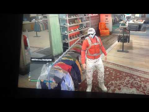 How to make you clothes look red and black in gta 5