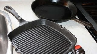How To Season A Cast Iron Grill Pan Before Use