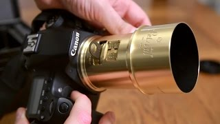 Lomography Petzval 85mm f/2.2 lens review with samples (Full-frame and APS-C)