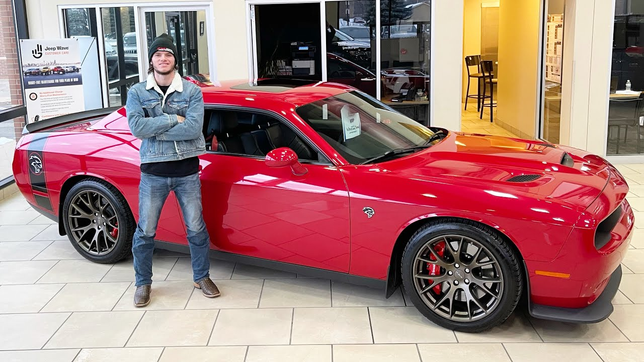 I bought a new $54k Hellcat just to destroy it