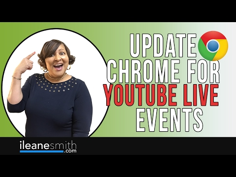Best Way to Update Chrome Browser Settings for YouTube Live