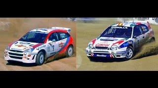 Carlos Sainz vs Colin Mcrae @ WRC Rally Portugal (Baltar) HD